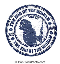The End of the World stamp - The End of the World theme...