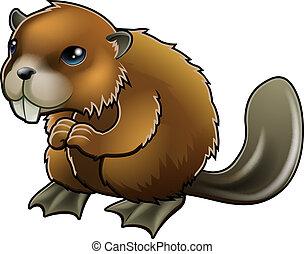 Cute Beaver