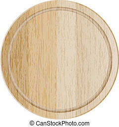 cutting board - Vector illustration of cutting board