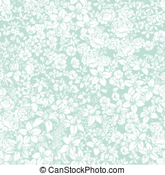 Flower pattern light - Gentle seamless pattern with flowers