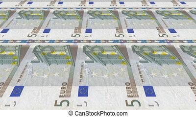 5 Euro Money Press