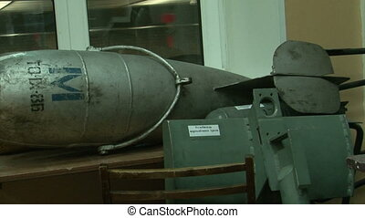 Torpedoes and underwater mines.