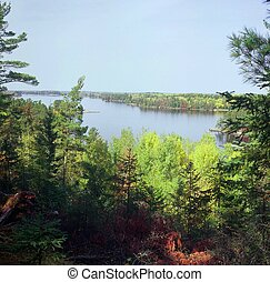 Kabetogama Lake Overlook - Picturesque overlook of...