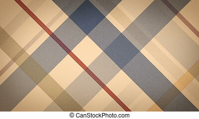 beige checked fabric loopable back