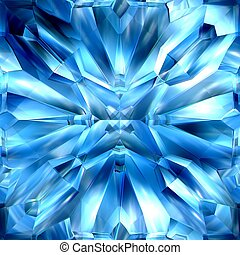 icy crystals - Blue ice crystal, patterns, texture suits for...