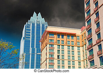 Skyscrapers of Austin, Texas, U.S.A.