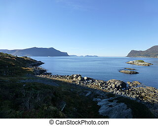 Fjord and islands