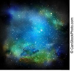 a, galáxia