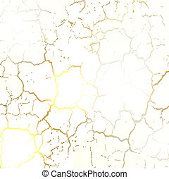 Dry cracked earth texture. Vector Illustration, eps10.