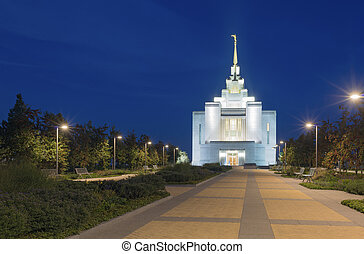 Mormon church in Kiev - Holiness to the Lord. Church of...
