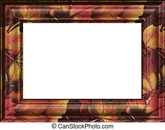 photo of framework. Isolated on a white background