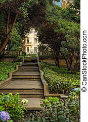 Presidential Palace Garden - Garden of the presidential...