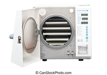 Autoclave, steriliser used in dentistry - The autoclave is...