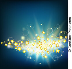 abstract starry background - abstract background with rays...