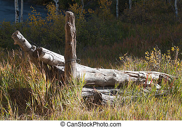 Ranch Fence - Ranch fence on western Colorados Grand Mesa