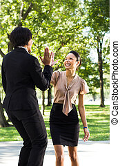 Professional Women High Fives - Professional Women...
