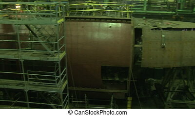 Plant for the production of submarines and ships - Shop for...