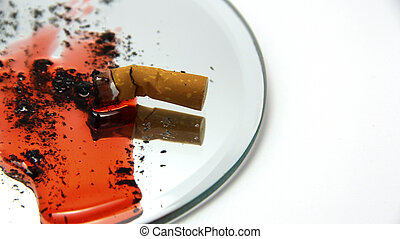 Cigarette, Blood, and Ash