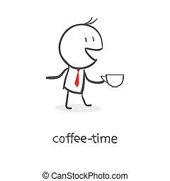 café, tiempo