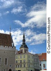 Tallinn Center HDR - The central part of Tallinn with St....