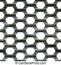 Steel Mesh - Steel wire mesh that tiles seamlessly as a...
