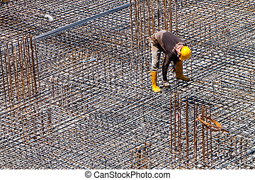 Final Inspection - A worker is doing a final inspection of...