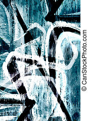 Close up abstract graffiti background - Close up grunge...