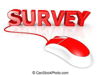Survey - Rendered artwork with white background
