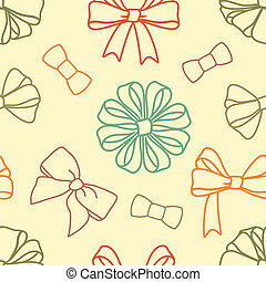 various-bows-pattern