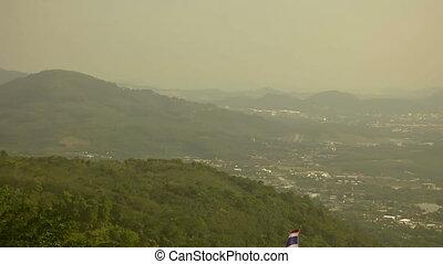 Phuket landscape. - Phuket island pan landscape. Thailand.