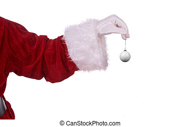 Santa Claus with golf ornament - Santa Claus with golf ball...