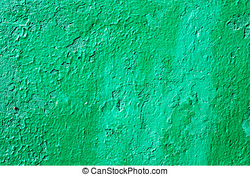 Old painting of a wooden structure abstract background