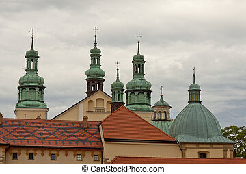 Church in Kalwaria Zebrzydowska - Poland UNESCO place - View...