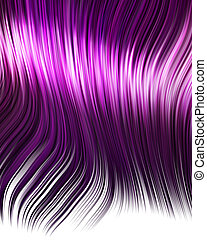 purple anime hair - purple hair in an anime cartoon style