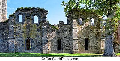Abbey ruins Villers la ville - abbey ruins Villers la ville...