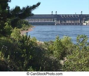 Spillway - Dam spillway into river