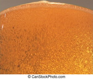 Beer  - Pouring Beer - Close-Up.