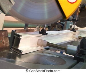 Cutter - Sawing metal profile