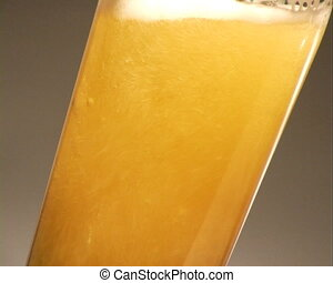 Beer. - Pouring Beer - Close-Up.
