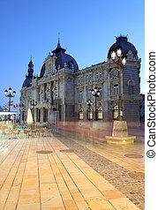 City hall building of Cartagena (Palacio Consistorial). Region Murcia, Spain