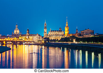 Dresden, Germany - Dresden Skyline, Germany