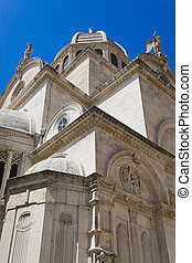 Cathedral of St. James at Sibenik, Croatia - Cathedral of...