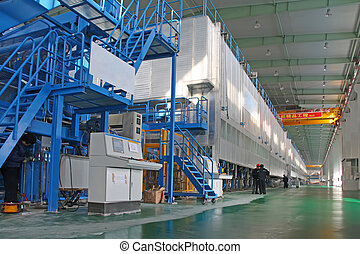 paper enterprises production line in china