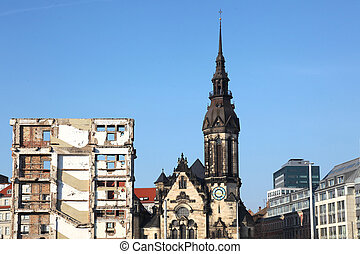 Reformed Church Leipzig - the Reformed Church with the...