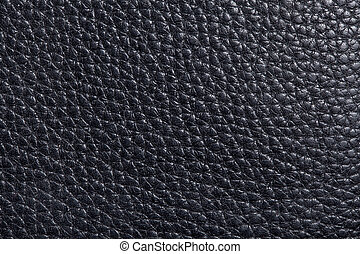 leather texture in black