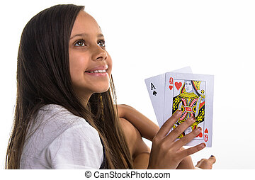 Queen of hearts - She is her entire familys favourite litlle...