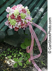 Wedding bouquet - The forgotten wedding bouquet from roses