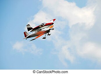 air show - photographed stunt planes at air show in Georgia.