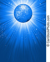 Party Banner with Disco Ball EPS 8 vector file included