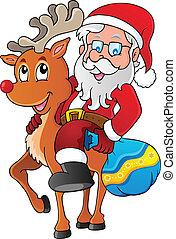 Santa Claus thematic image 1